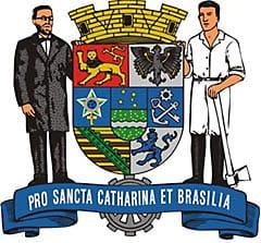 Blumenau Wappen, deutsche Stadt in Brasilien