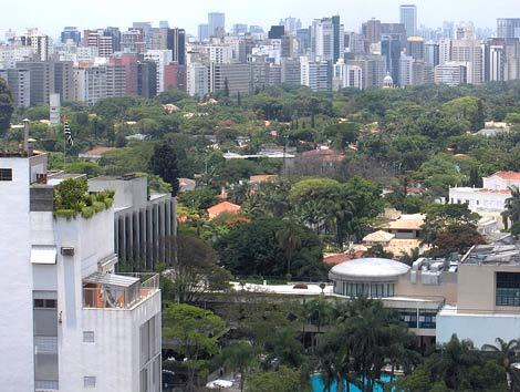 Panorama von Sao Paolo