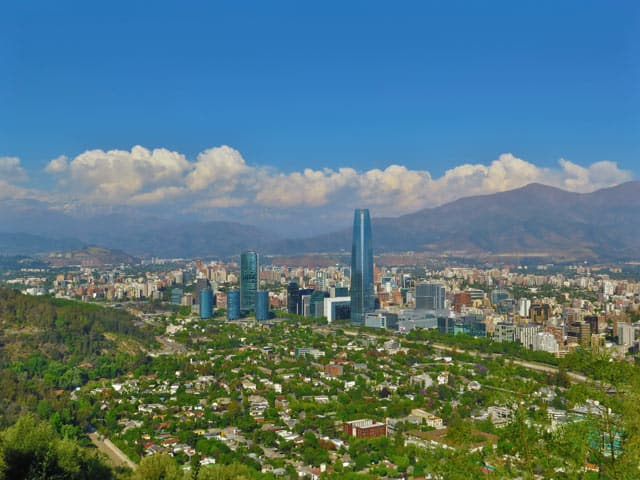 Santiago - Hauptstadt von Chile