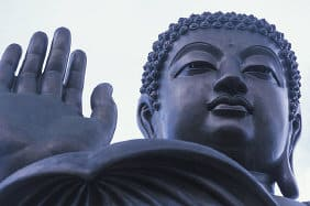 Buddha in Lantau, China