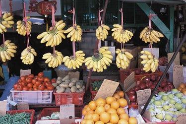 Marktstand in China