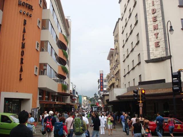 Stadtzentrum von San Josè
