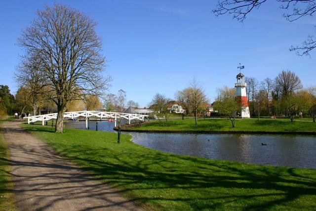 Der Park in Kolding