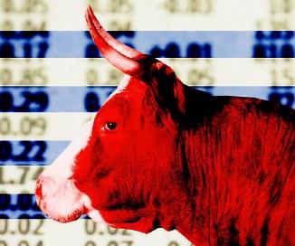 Bulle, Symbol der Börse