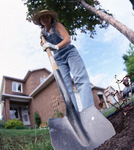 Heimat, Gartenarbeit