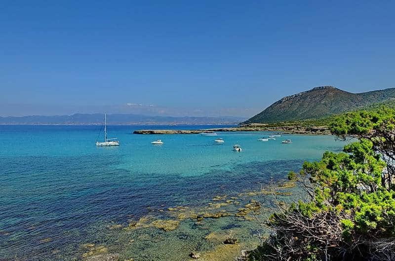 An der Küste von Zypern