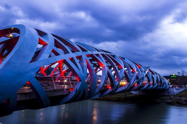 Genf, Brücke und Rolex-Manufaktur