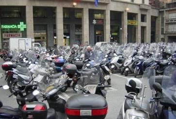 Parkplatz in Genua
