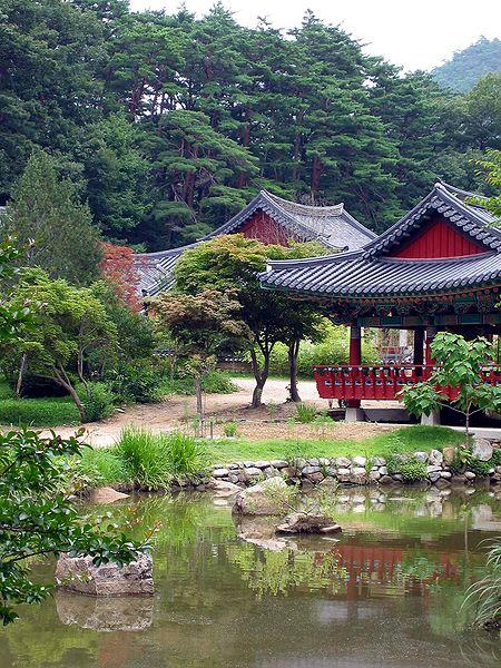 Der buddhistische Tempel Buryeongsa