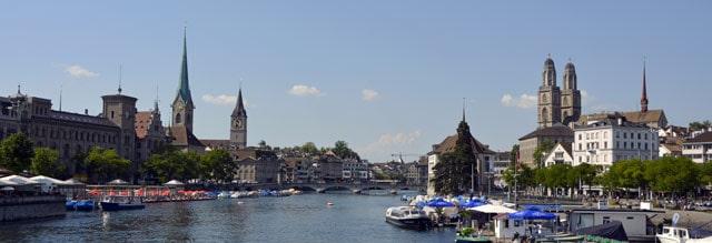 Stadt Zürich, die neue Heimat in der Schweiz