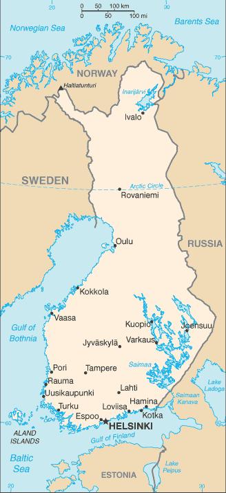 Finnland Auswandern