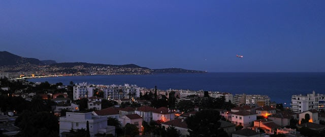 Nizza, die Blaue Stunde