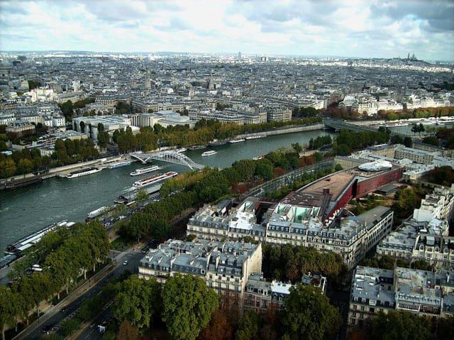 Paris, Blick über die Seine