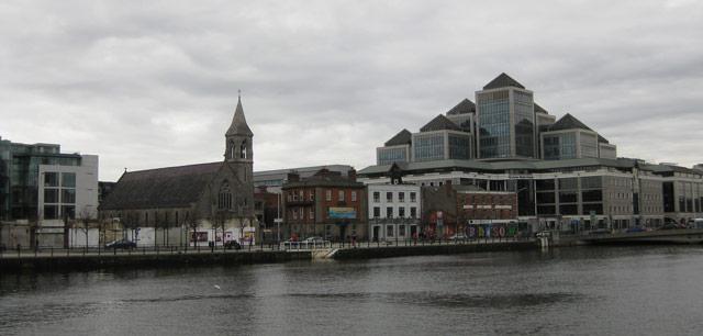 Dublin Uferpromenade