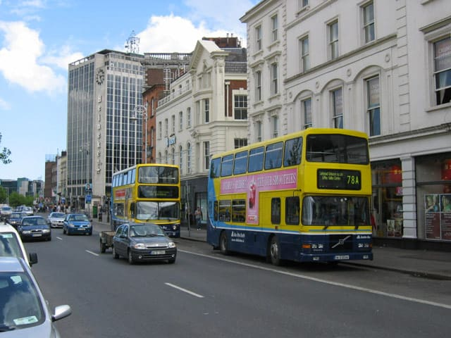 Busverkehr in Dublin
