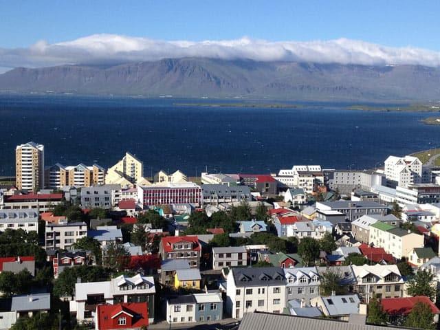 Die Hauptstadt von Island, Reykjavik