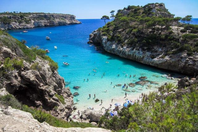 Mallorca Bucht und Meer