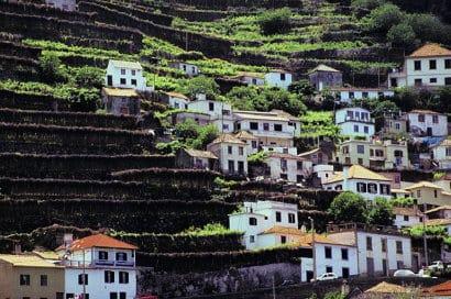 Funchal Stadtansicht Madeira