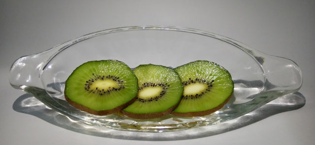 Kiwi, aufgeschnitten