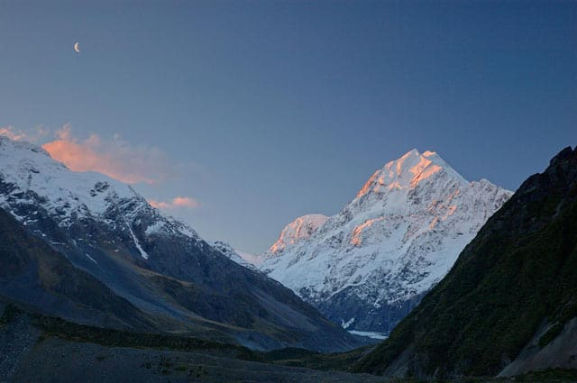 Mount Cook, Berg in Neuseeland