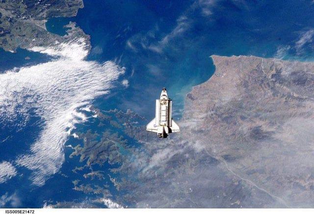 Neuseeland aus dem Weltraum