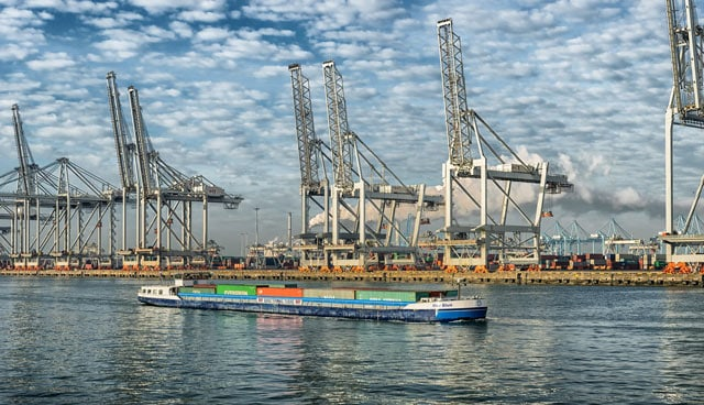 Der Hafen Rotterdam