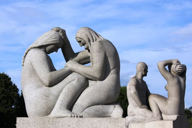 Oslo: Im Vigeland Skulpturenpark