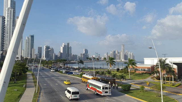 Panama City, 1. Ziel beim Auswandern Panama