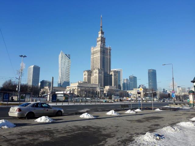 Warschau: Palast der Kultur und Wissenschaft