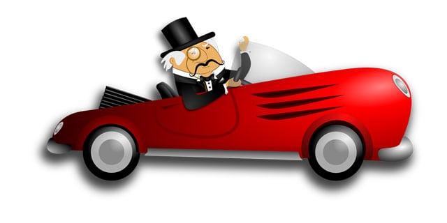 Fluchtauto für Millionäre