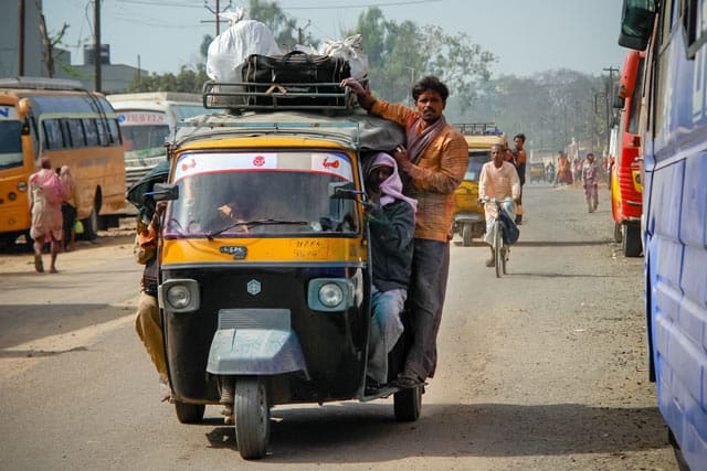 Riksha Taxi in Indien