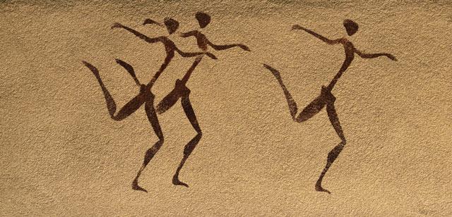 Wandbild - fremde Kultur
