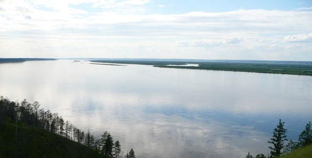 die Lena, Fluss in Sibirien