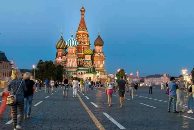 Russland - Moskau Roter Platz