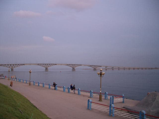 Wolgabrücke