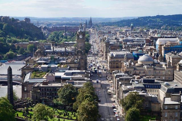 Edinburgh, Hauptstadt von Schottland