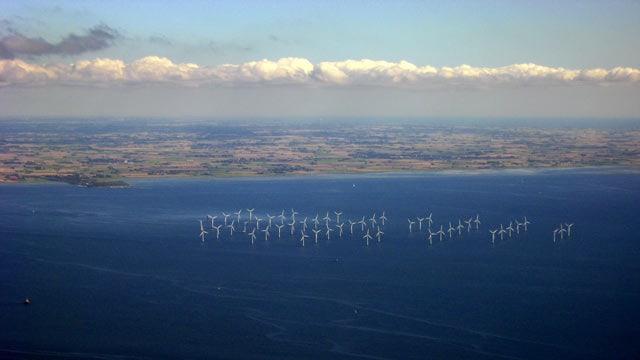 Lillgrund Windfarm vor der Küste Schwedens