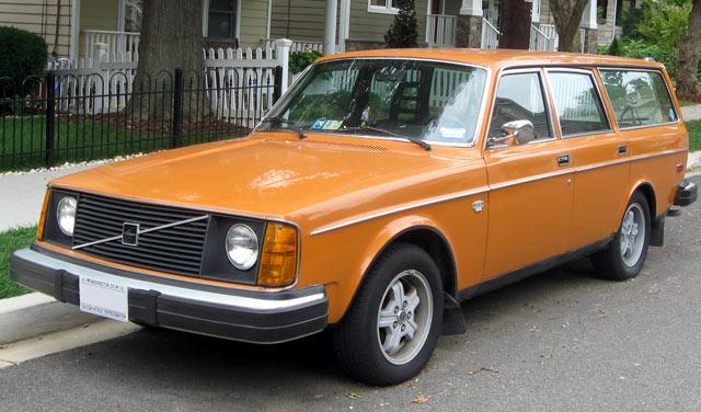 Volvo Kombi 245 aus dem Jahr 1975