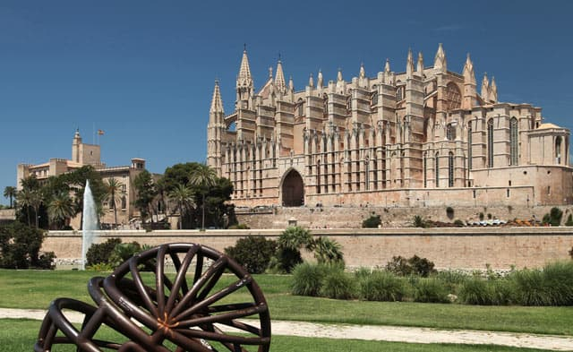 Spanien: Kathedrale auf Mallorca