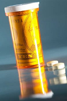 Tablettendose - Teil der Taschenapotheke