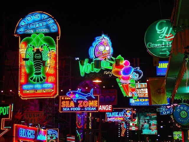 Tourismus: Pattaya bei Nacht