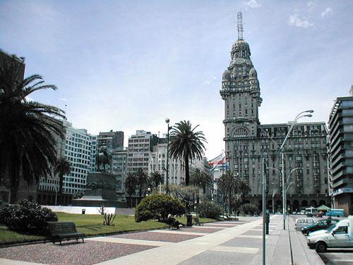 Stadtzentrum Montevideo