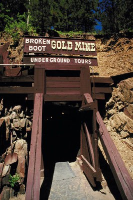 Broken Boot Gold Mine, Süddakota