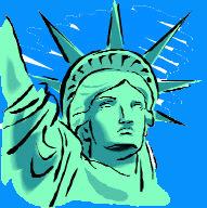Freiheitsstatue, Symbol der USA