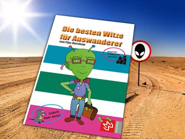 Cover: Die besten Witze für Auswanderer