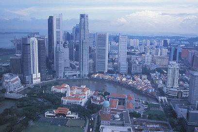 Finanzdistrikt Singapur