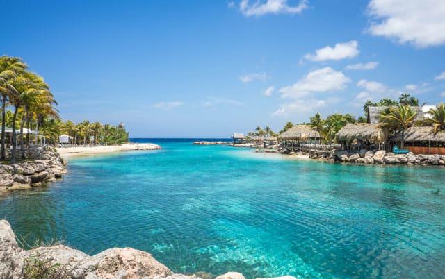 Lagune auf Curacao, nahe Willemstad