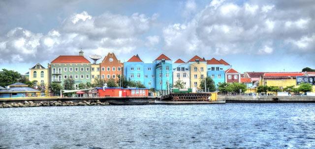 Hauptstadt von Curacao: Willemstad, Wohnort der meisten Auswanderer